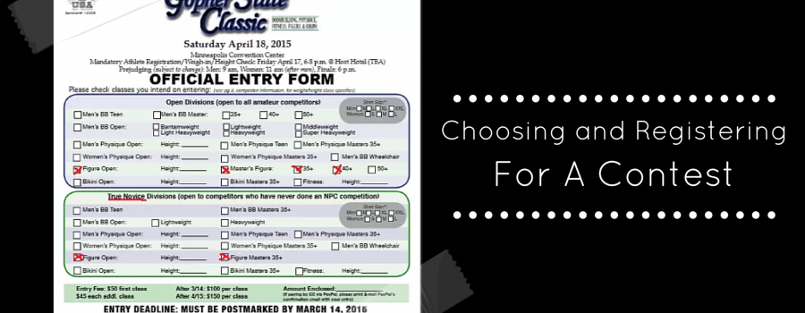Choosing & Registering for a Contest