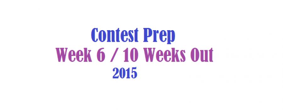 Contest Prep Week 6 Update