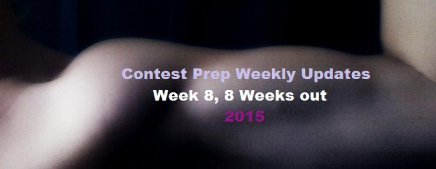 Week 8, 8 Weeks Out- Contest Prep