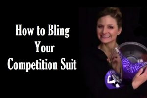 How to Add Bling to Your Competition Suit