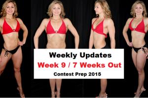 Weekly Update Week 9 / 7 Weeks Out