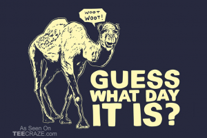 Today's blurb – Hump day, I mean, pump day!