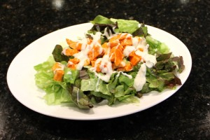 Easy Low Fat Buffalo Chicken Salad