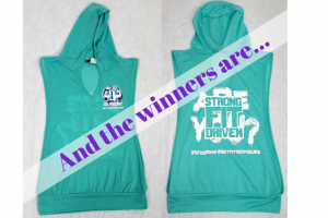 Winners of GF2 Crew Open Sided Hoodie Shirts!!!