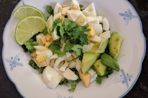 Fresh Cilantro Lime Breakfast Egg Salad